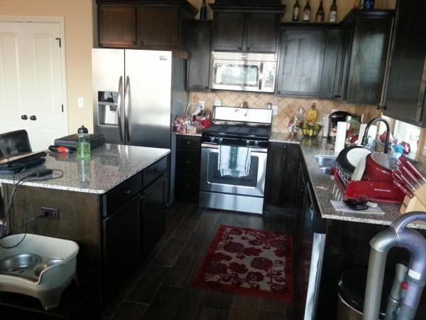 My small but modern kitchen.