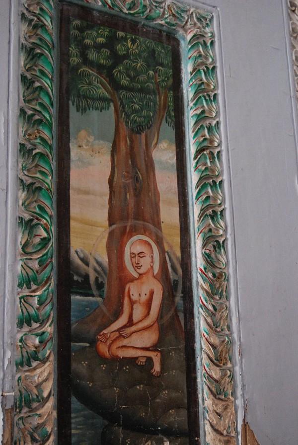 W świątyni dżinijskiej (Sarnath, 2009 r.)