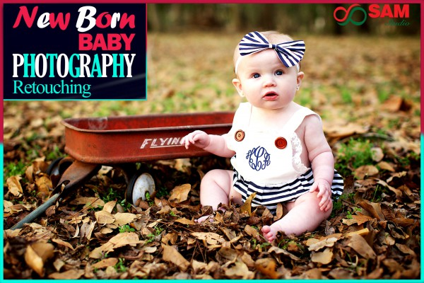 Professional Baby Image Retouching Services for Newborn Photographers
