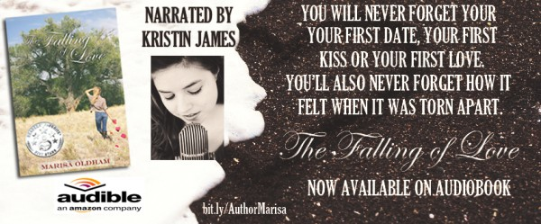 Falling Of Love now on audiobook!
