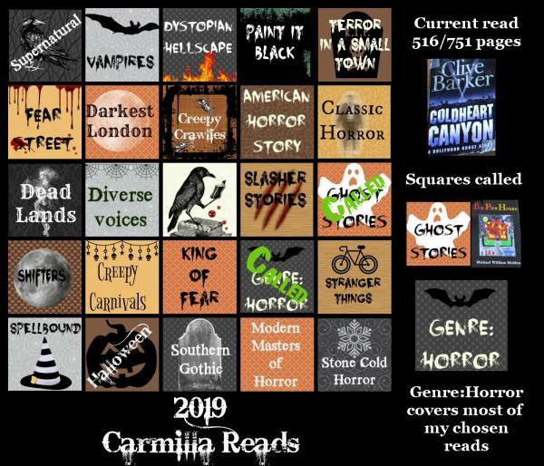Halloween Bingo Day 2