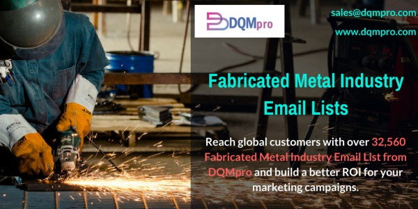 Fabricated Metal Industry Email List