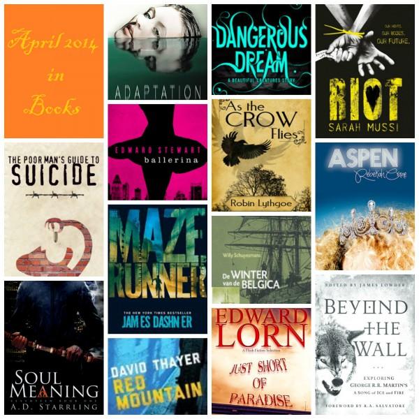 April 2014 in Books