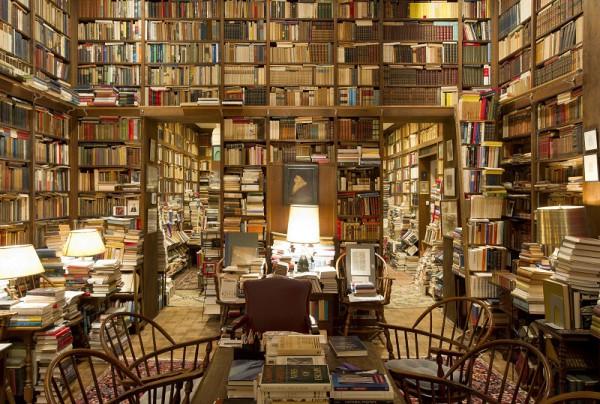 Domowa biblioteka Richarda A. Mackseya