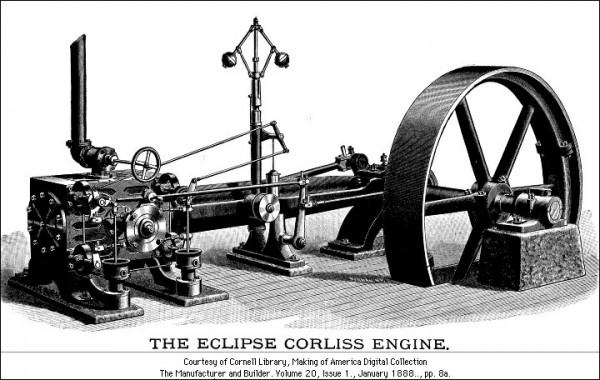 Classic Steam Engine Engineering The Eclipse Corliss Engine Group Classic Engineering