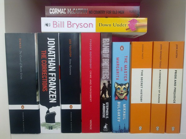 December book haul.