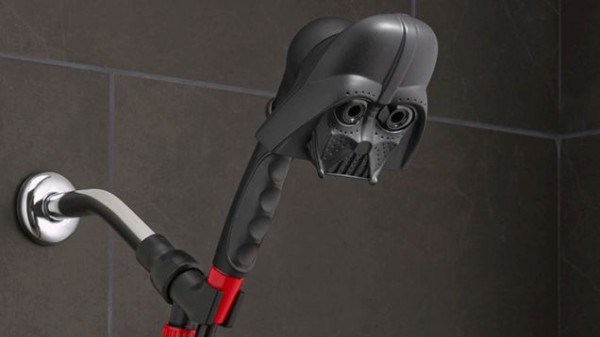 """Star Wars Showerheads Let You Bathe In Vader's Tears"""