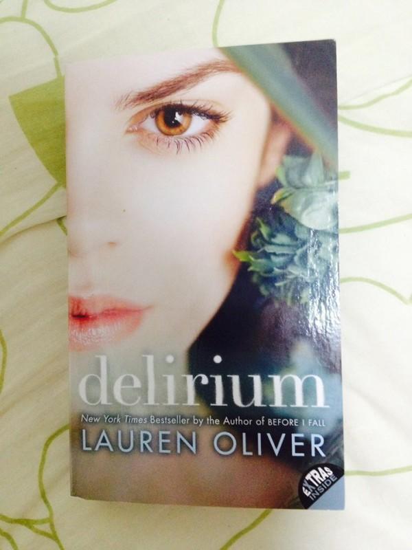 #Delirium  #books