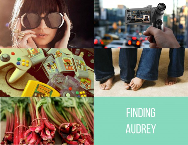 My Edit for Finding Audrey by Sophie Kinsella