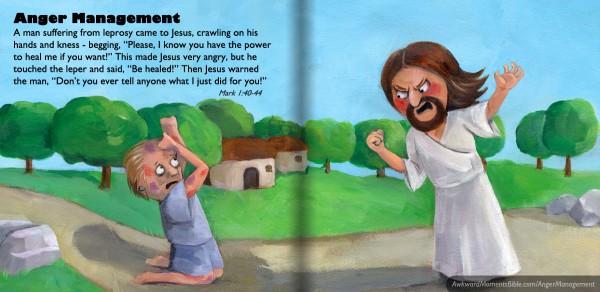 Jesus was a jerk