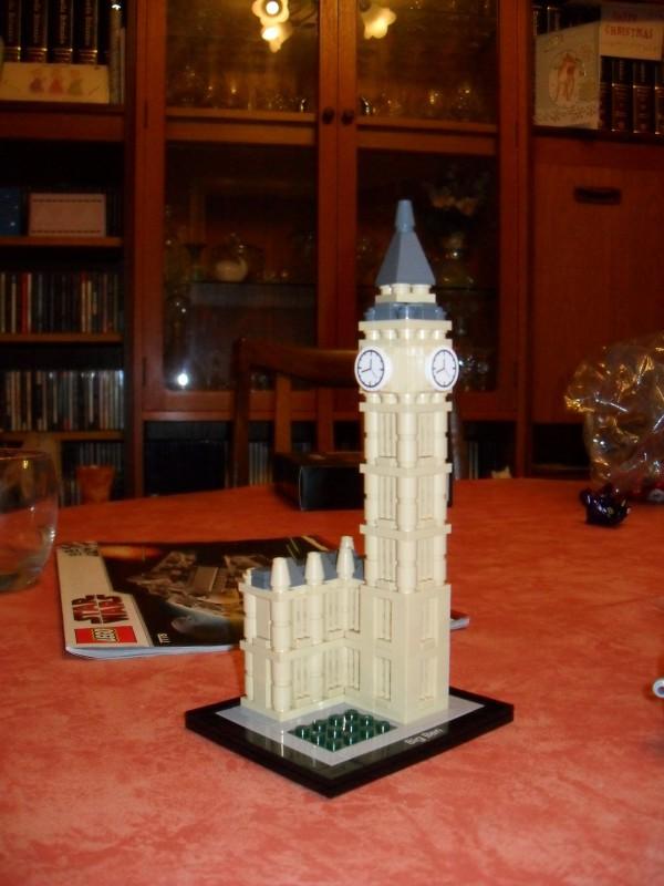 LEGO Big Ben clock tower