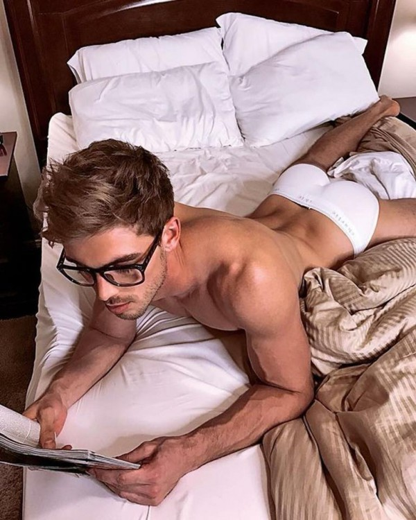 Hot Dudes Reading, #55