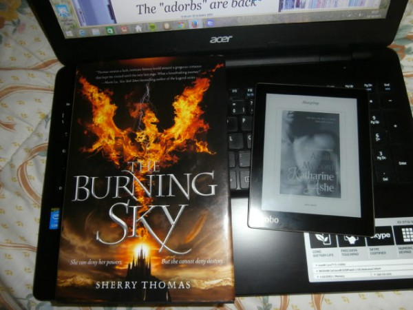 Re-reading The Burning Sky