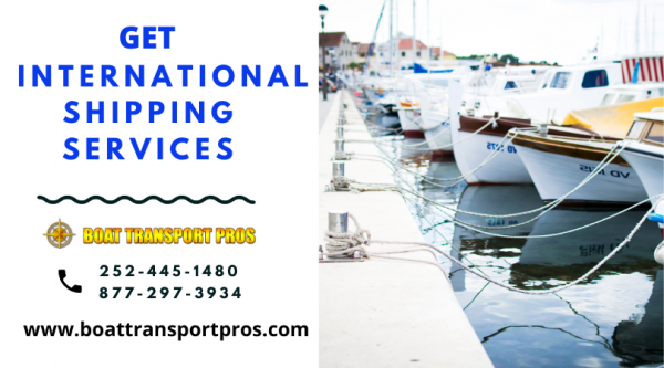 International Yacht Shipping