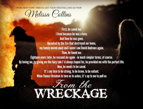 ‪#‎TeaserTuesday‬ - From the Wreckaage by Melissa Collins