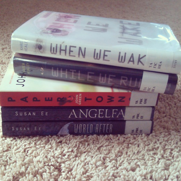 Library Haul 10/17 :)