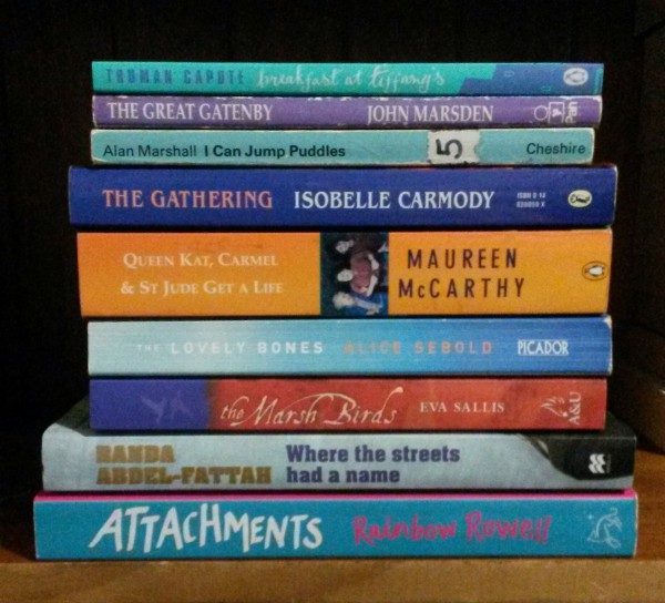 Books I've bought TBR pile 3: secondhand books from the Clunes Booktown festival 2013 & 2014 - priority: level 2