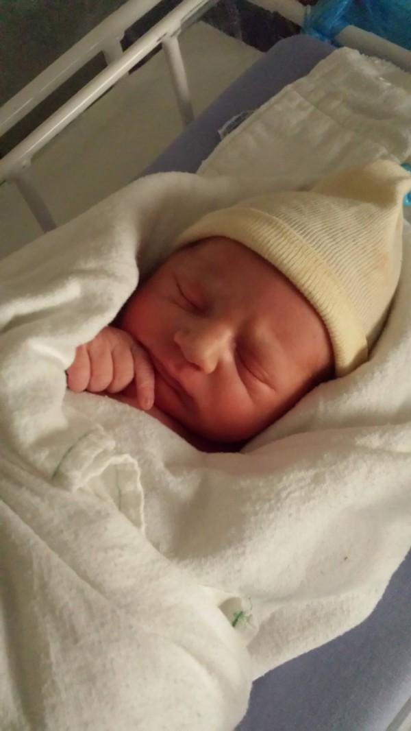 My new great-nephew