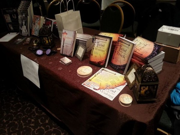 Emi Thompson's Clockwork Twist and Janice T's ECHOES at FOGcon 2014