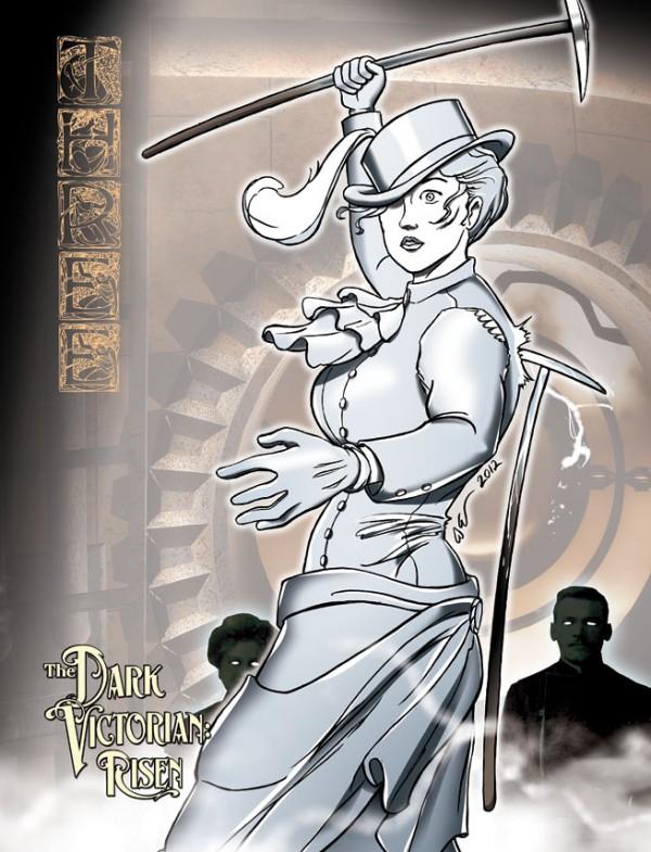 Dark Victorian, promotion illustration, two