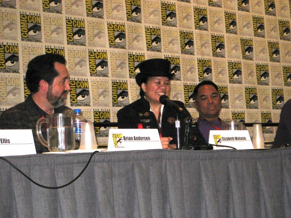 """Me again! """"LGBT Comics for Young Readers"""" panel"""