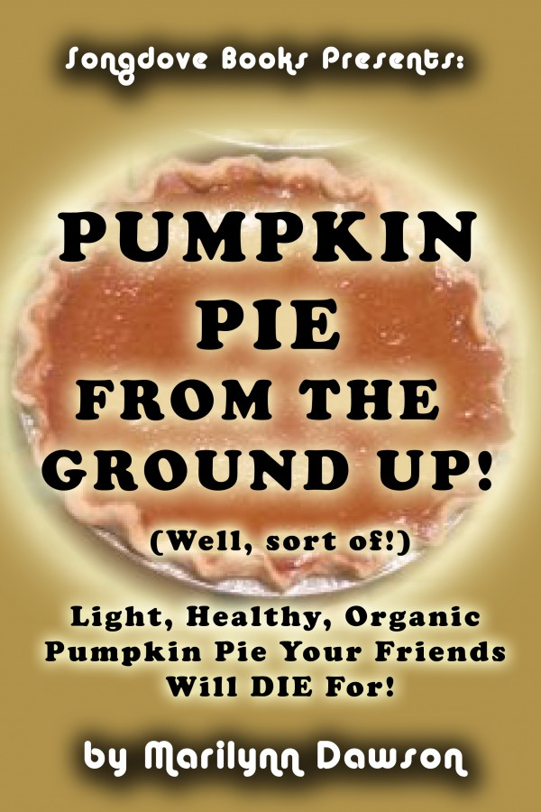 "Front Cover for ""Pumpkin Pie From the Ground Up! (Well, Almost!)"""