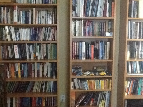 Just some of my books
