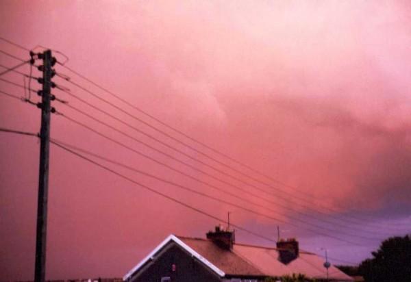 Sunset, Welton, England