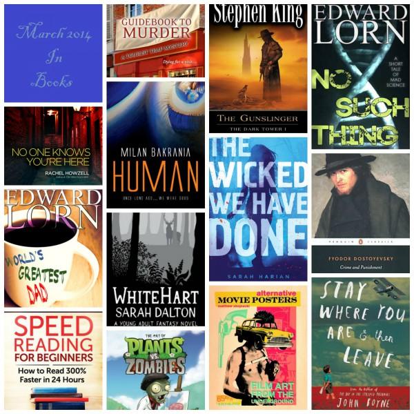 March 2014 in books