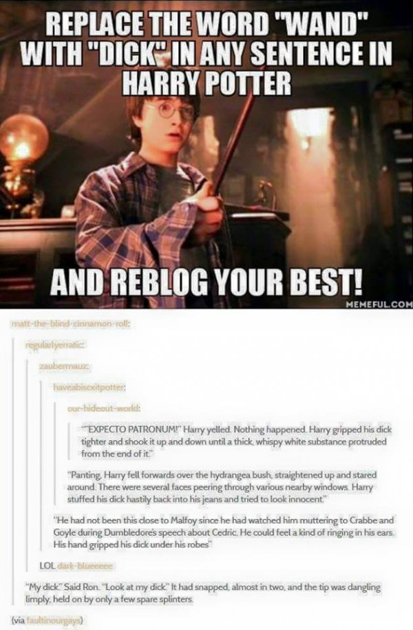 This would have made Harry Potter much more readable for me.