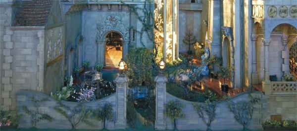 Colleen Moore's Fairy Castle, Garden