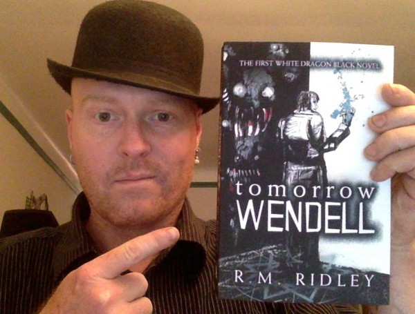 Me and my Novel - the novel looks better don't you think?