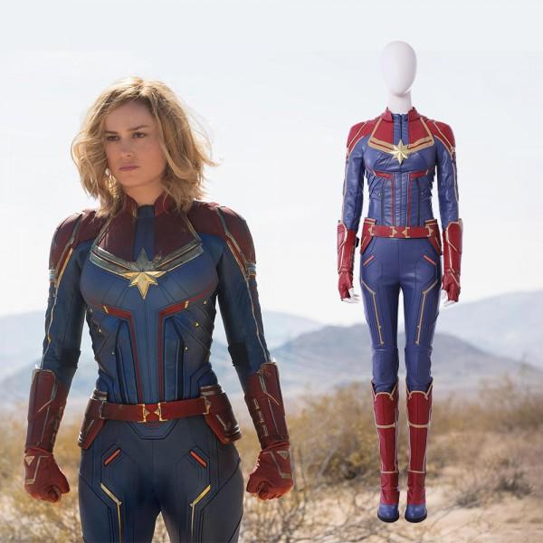 Captain Marvel Latest costume