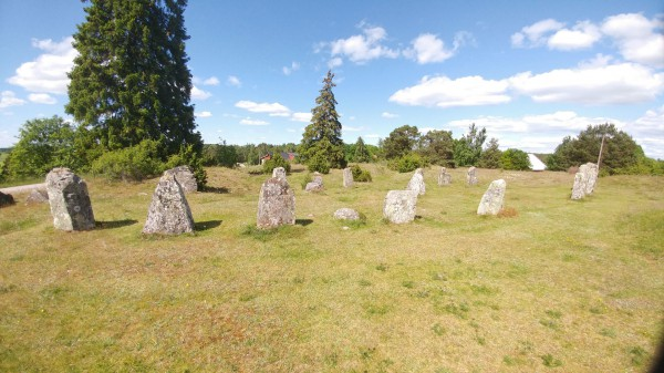 Viking ship grave