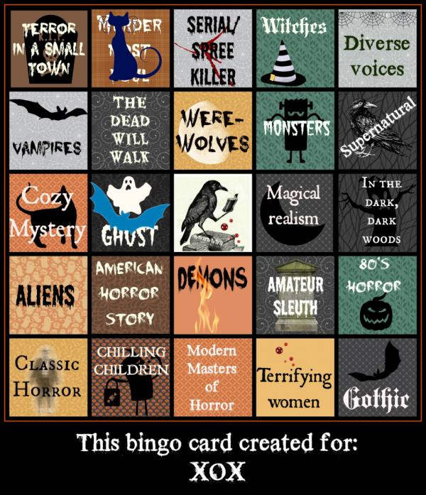 Halloween Bingo started