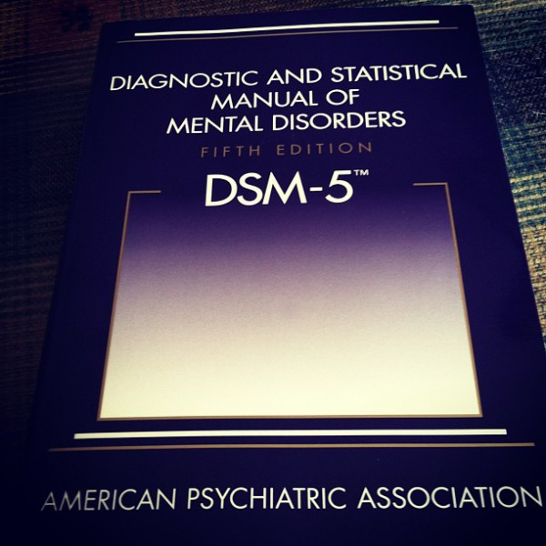 DSM-V, gift from my Dad to prep for my new job