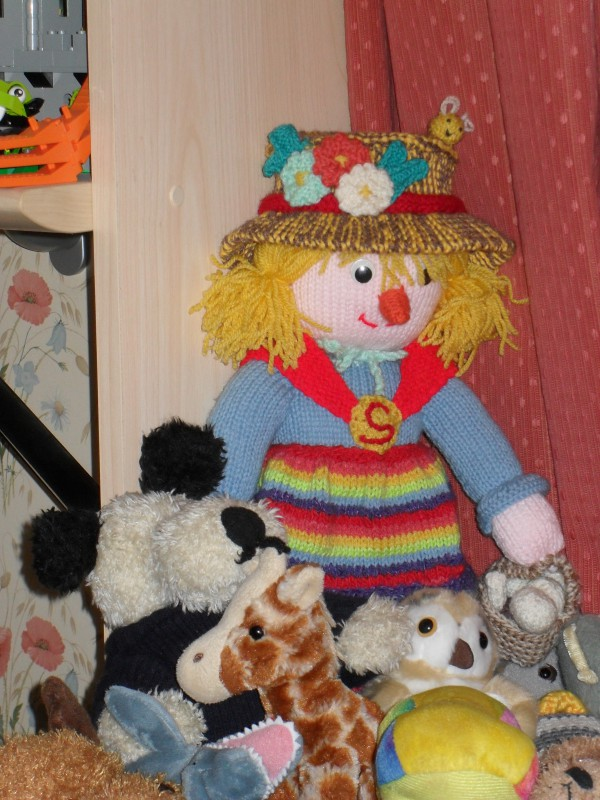 Sally feels at home with her new friends already