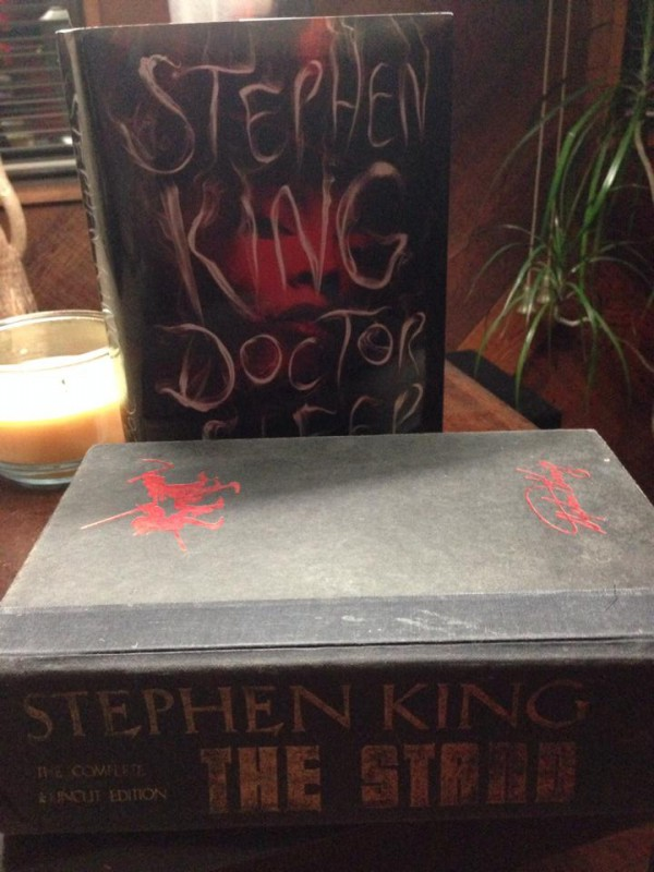 March Book Challenge Day 23: New and Old I've read that copy of The Stand eight times