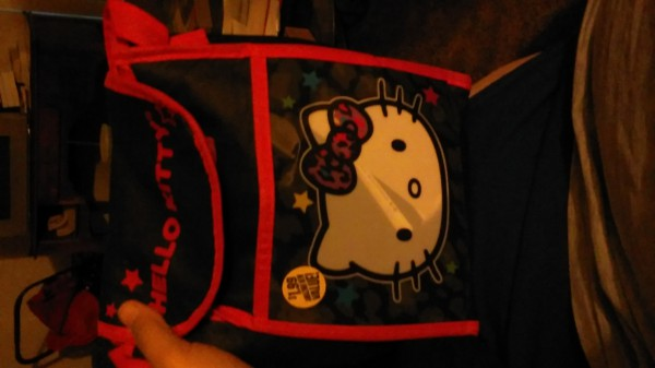 my hello kitty bag. :D