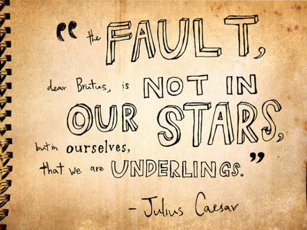 Quote from Shakespeare's Julius Caesar