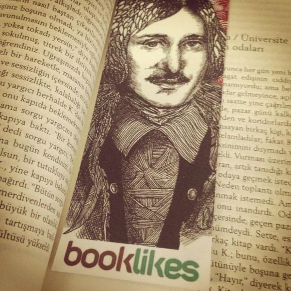 Booklikes Bookmark