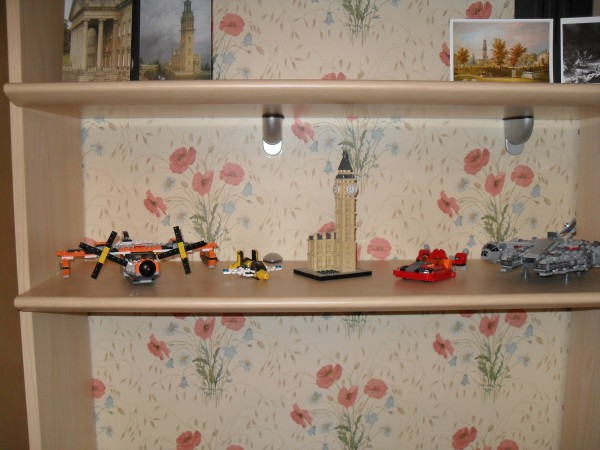 My LEGO shelf.