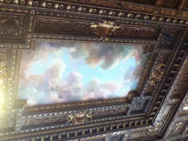 Ceiling of the reading room!