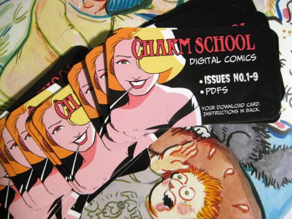 Charm School Indiecards!
