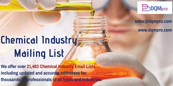 Get in touch with over 21,463 Chemical Executives and Make your Business Profitable
