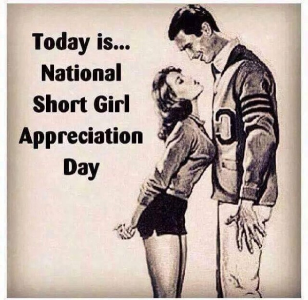 Short girls rule!