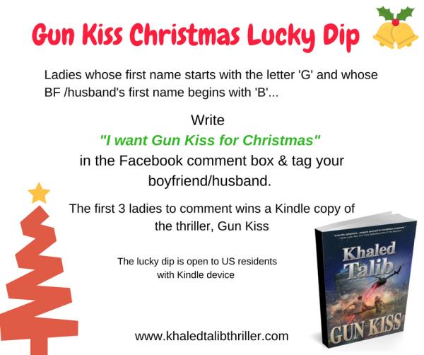 Gun Kiss Christmas Lucky Dip!