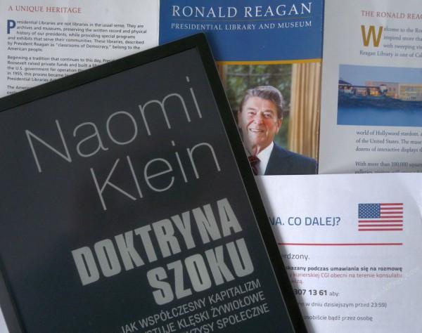 """Naomi Klein """"Doktryna szoku"""""""