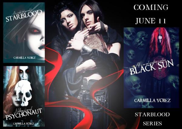 The Starblood Series by Carmilla Voiez