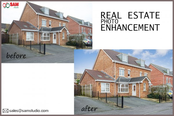 Real Estate Photo Enhancement | Property Image Retouching Services